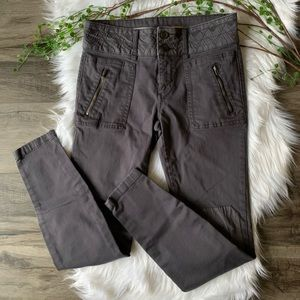 Pilcro and the Letterpress Skinny Moto Patch Pants